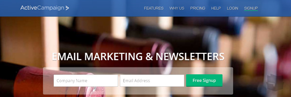 Active Campaign Best Free Email Marketing Tool Web App Services 2013