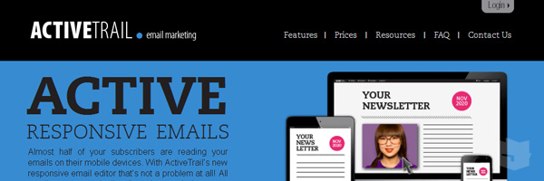 Activetrail Best Free Email Marketing Tool Web App Services 2013