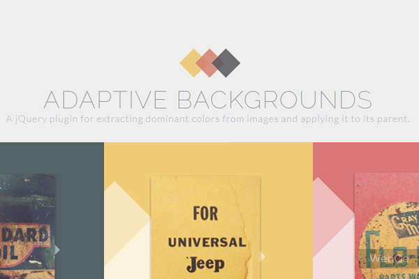 Adaptive Backgrounds Jquery Apply Background For Images