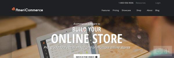 Americommerce Best Premium E Commerce Software Online Shopping Cart 2013