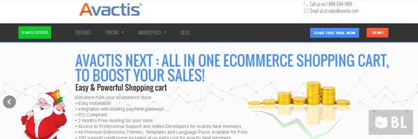 Avactis Best Premium E Commerce Software Online Shopping Cart 2013