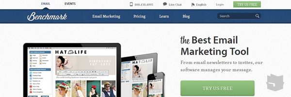 Benchmark Email Best Free Email Marketing Tool Web App Services 2013