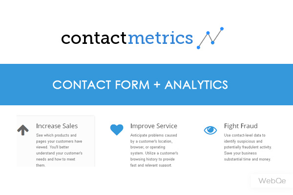 Contactmetrics A Beautiful Contact Form With Analytics