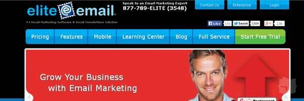 Elite Email Best Free Email Marketing Tool Web App Services 2013