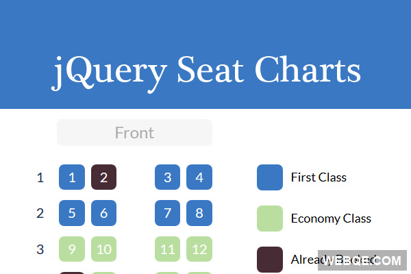 jquery seat chart a seat map generator javascript library webqe