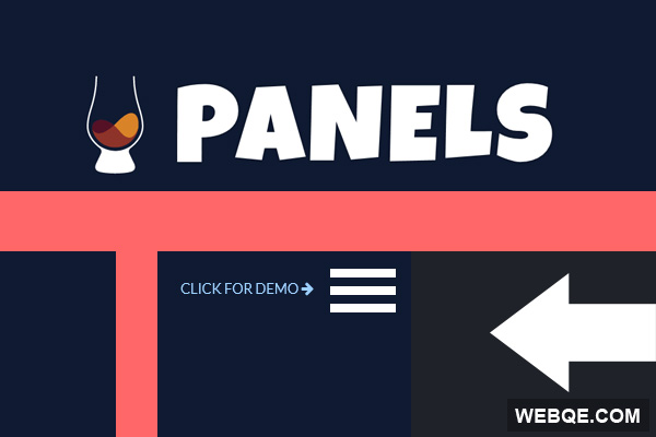 scotchPanels.js - Create simple off canvas panel with jQuery