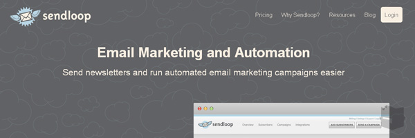 Sendloop Best Free Email Marketing Tool Web App Services 2013