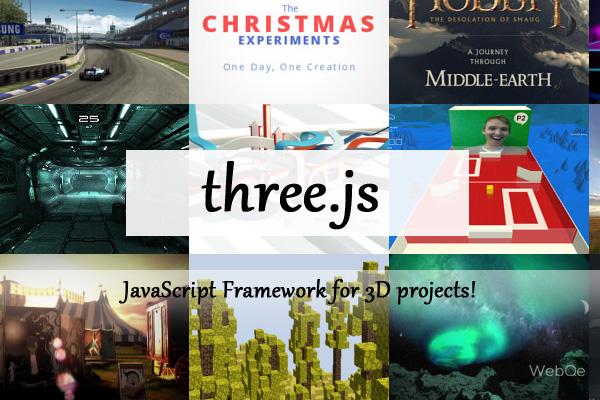 Threejs A Free Webgl Javascript Framework To Create 3d