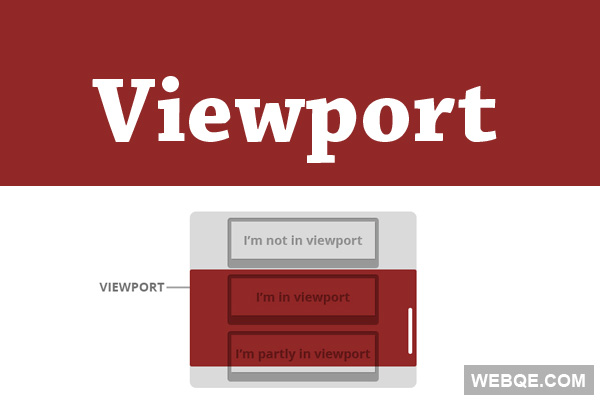 Viewport - A simple way to check elements in viewport or not