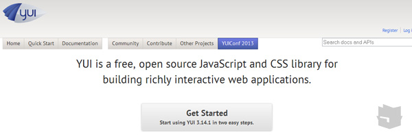 Yui Best Javascript Frameworks Libraries Of 2013