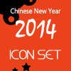 14 Icons - Chinese New Year 2014 Vector Icon Set Free Download
