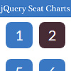 jQuery Seat Chart - A seat map generator JavaScript library