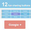 12 Share button animation effects with CSS3 3D animation